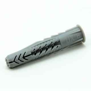 8x50mm Fischer Universal-Dübel mit Kragen für 5-6 mm Schrauben