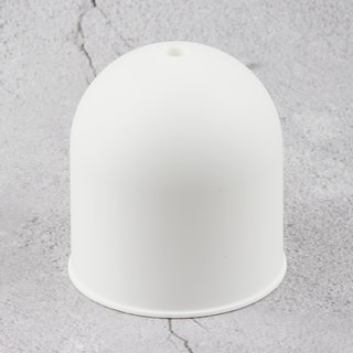 Lampen Baldachin 73x68mm Kunststoff weiß rund